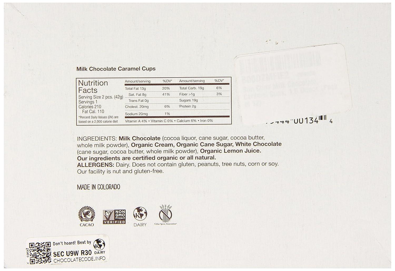 Amazon.com : Sun Cups Milk Chocolate Caramel Cup, 1.5 Ounce (Pack ...