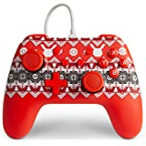 PowerA Wired Controller for Nintendo Switch - Pokemon Holiday Sweater - Nintendo Switch