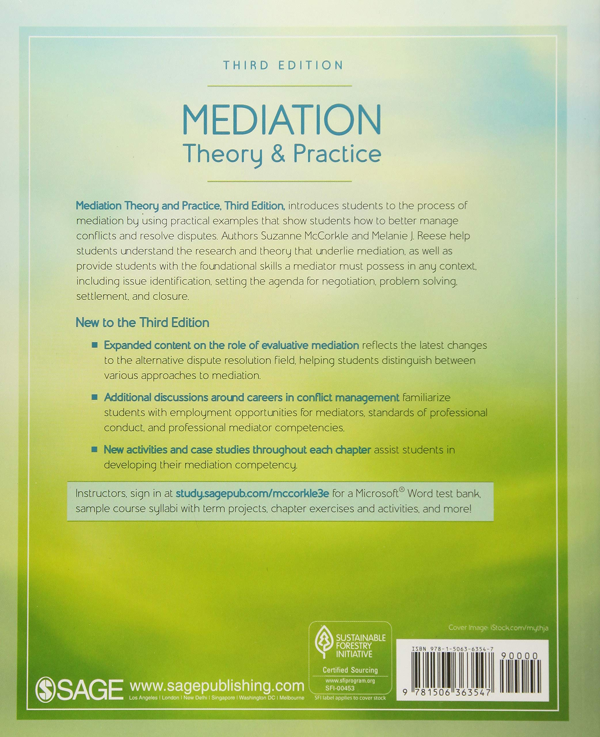 Mediation Theory and Practice: Suzanne McCorkle