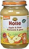 Holle Potito de Manzana y Pera (+4 meses) - Paquete de 6 x 190 gr - Total: 1140 gr