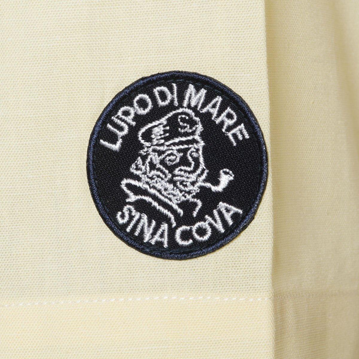 Cova SINACOVA 18124510 Men's Short Sleeve Shirt Yellow Medium by Cova (Image #6)