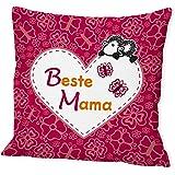 """Sheepworld 42552 Baumwollkissen """"Beste Mama"""""""