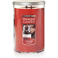 Yankee Candle Yankee Candle Kitchen Spice, 1218403, Red, Large 2-Wick Tumbler Candle