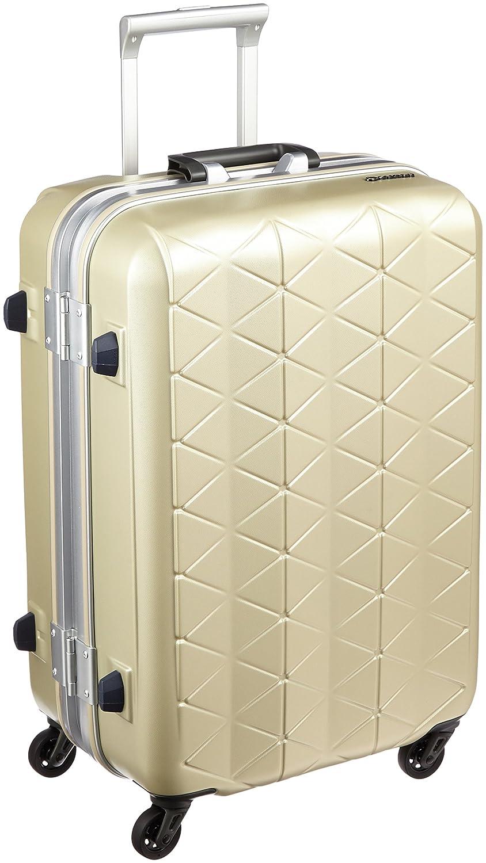 [サンコー] SUPERLIGHTS MGC スーツケース スーパーライト 軽量 中型 抗菌ハンドル マグネシウムフレーム 容量56L 縦サイズ63cm 重量3.5kg MGC1-57 B01GZFF8LY エンボスシャンパンゴールド エンボスシャンパンゴールド