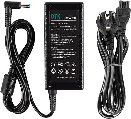 65 W HP Pavilion 15-P078SA Compatible Ordinateur Portable Chargeur Adaptateur AC Power Supply