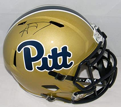 4b73607734c Image Unavailable. Image not available for. Color  Aaron Donald Autographed Pitt  Pittsburgh Panthers ...