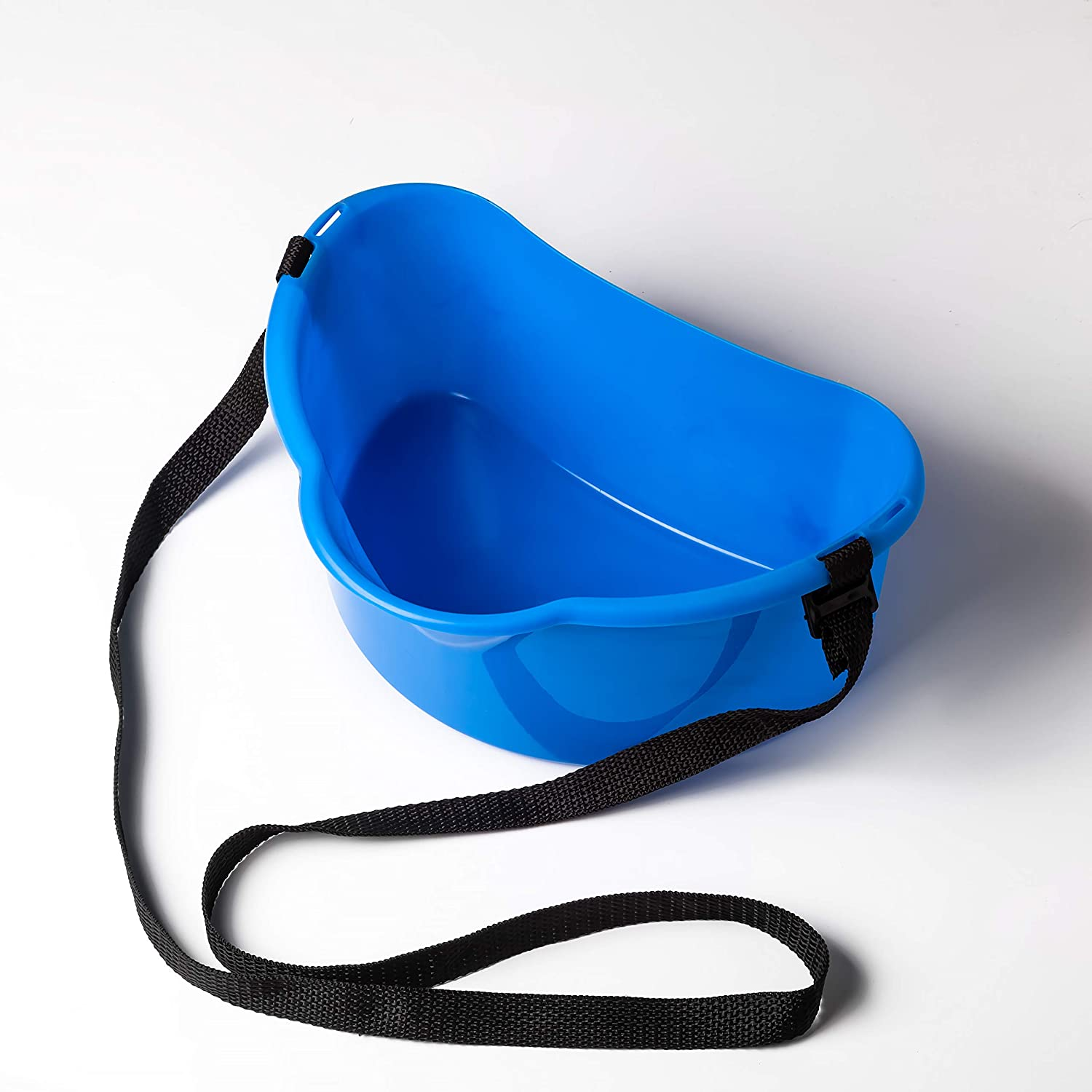 Fruits Berry Picker Harvesting Basket with Strap 3L/0.8 gal Harvest Bucket for Fruits Berries Vegetables Garden Tools Container Belt Support Farm | 1 pcs Blue