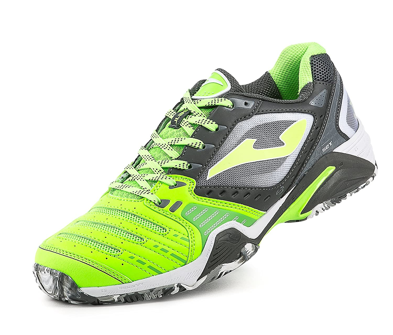 JOMA T.SET 611 CLAY LEMON FLUOR-BLACK 46: Amazon.es: Zapatos y ...