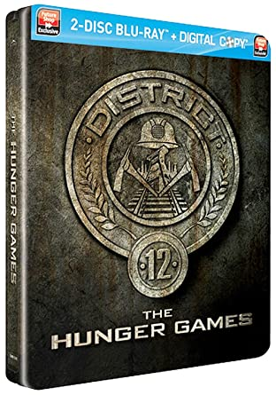 Amazon The Hunger Games District 12 Edition Steelbook Blu