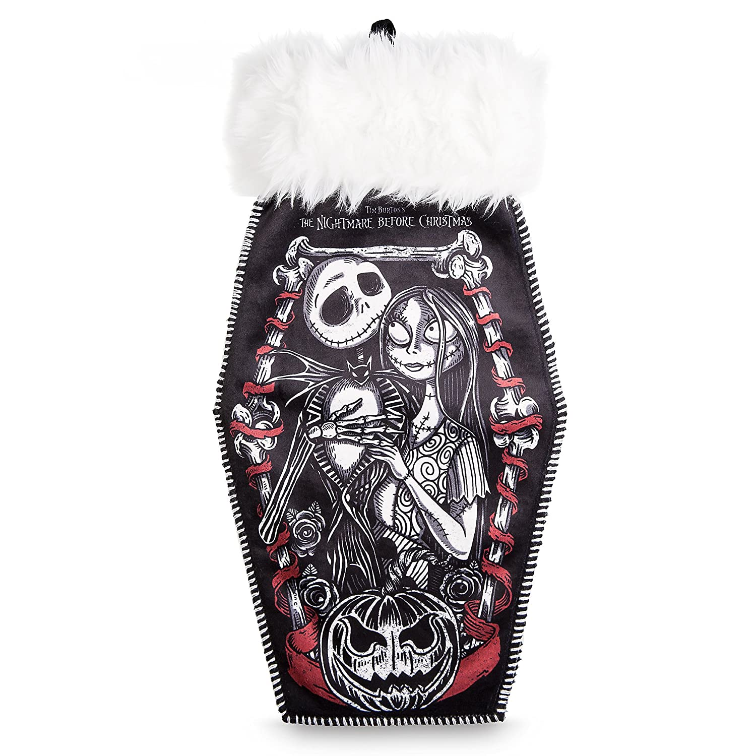 Amazon.com: Jack Skellington & Sally Christmas Casket Coffin ...