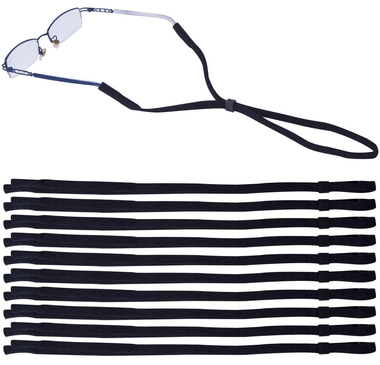 Leyaron 10 Pack Universal Eyewear Retainer Sports Sunglass Holder Straps, Safety Glasses Eyeglasses Neck Cord String Lanyard Strap 4332496248