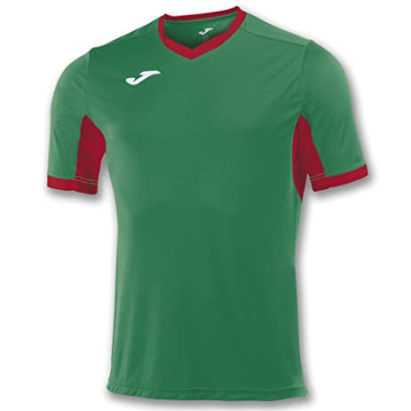 Joma Teamwear T-Shirt Champion IV Short Sleeves Green-Red