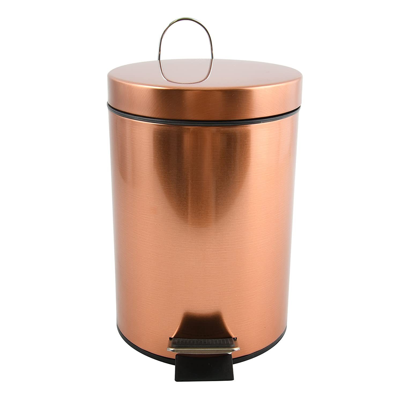 /Cobre MSV Cubo Hans Cubo de Basura Cubo de Basura/ /con Compartimentos nehm Baren Cubo Interior/ /3/litros/