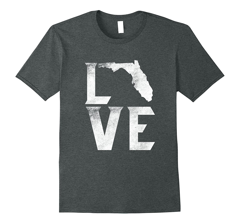 Love Florida Home The Sunshine State Flag USA Gifts T Shirt
