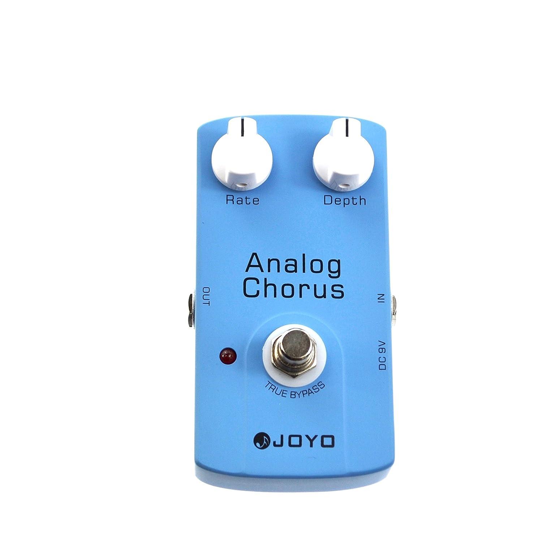 Joyo JF-37 P/édale de chorus analogique pour guitare