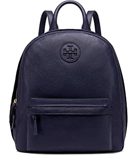 bf2640db2b1a Amazon.com  Tory Burch Leather Backpack (French Grey)  Toms N