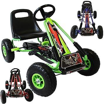 RIP-X Pedal Go Kart Racing - asiento ajustable - cadena de seguridad ...