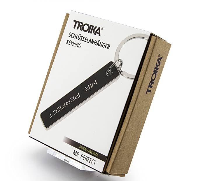 Troika Mr. Perfect Keyring (KR854BK)