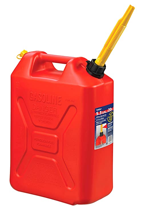 Plastic Gas Cans >> Moeller Scepter Vented Gas Can 5 Gallon Military Style