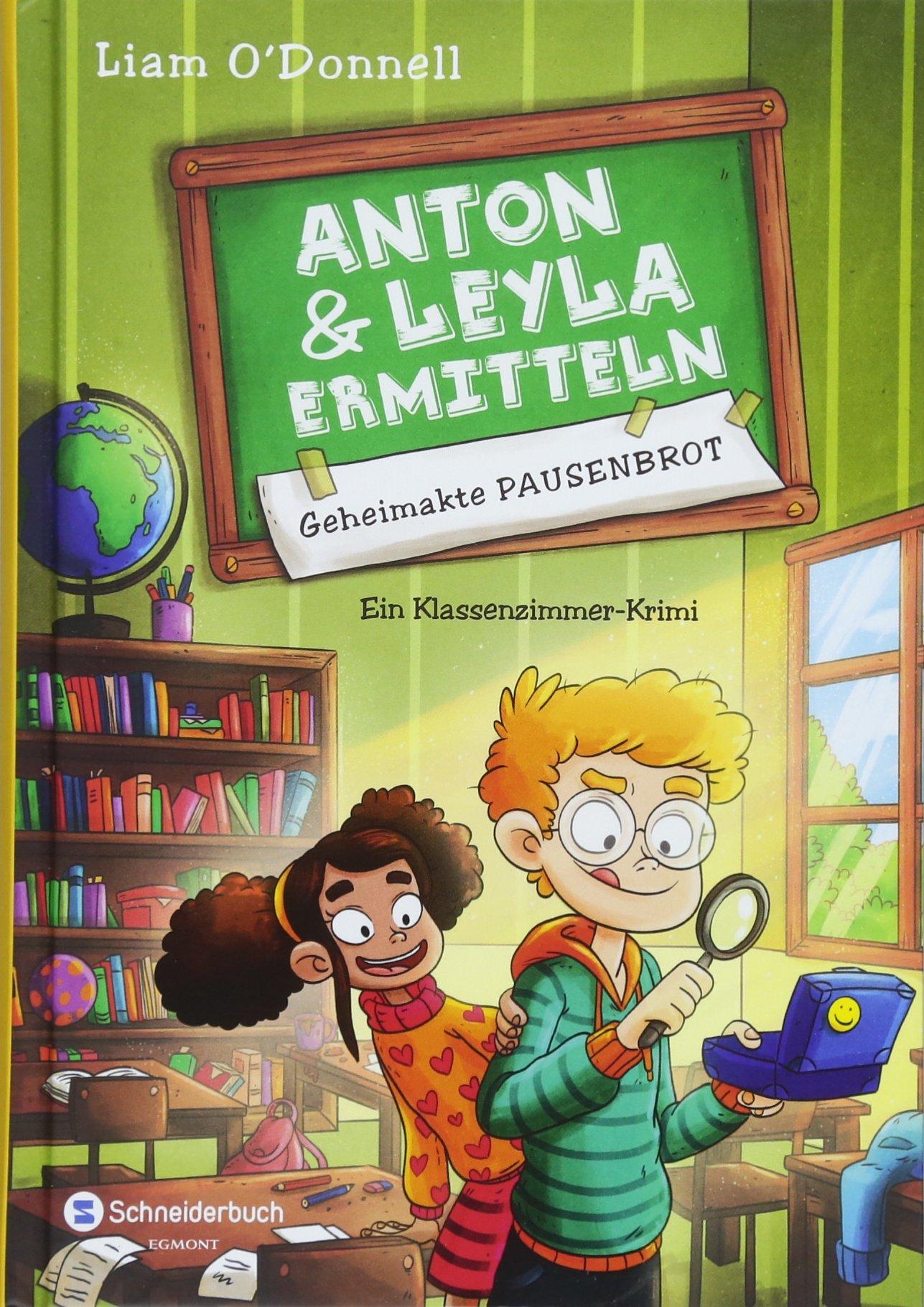 Anton und Leyla ermitteln, Band 01: Geheimakte Pausenbrot