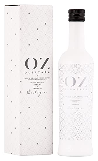 Oleazara Aceite de Oliva Virgen Extra Ecológico, variedad Arbequina. - 500 ml