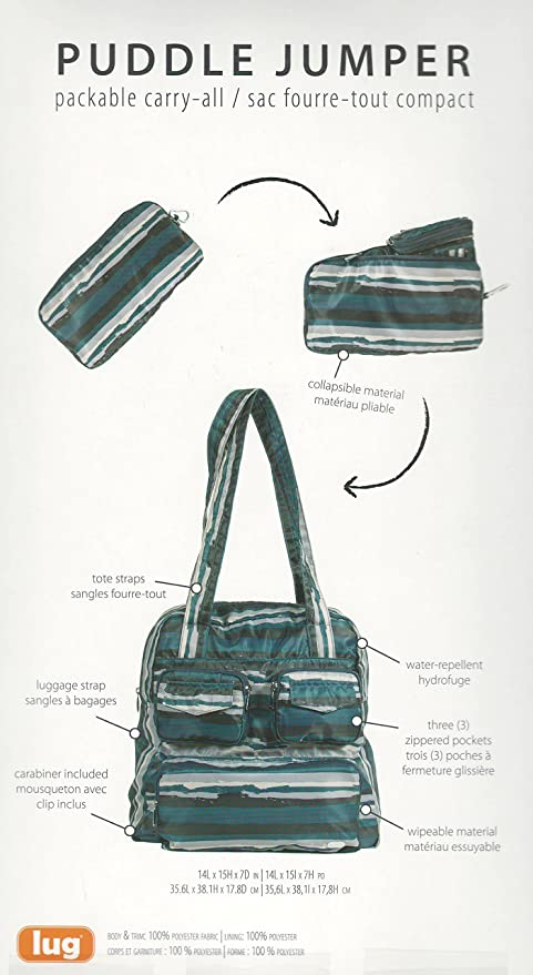 11f0616d6 LUG Puddle Jumper Packable Carry-All Foldable and Lightweight ...