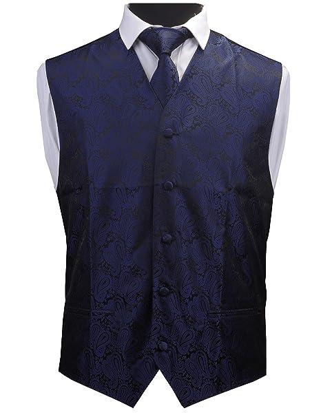 Amazon.com: gusleson 3pc para hombre corbata Paisley de ...