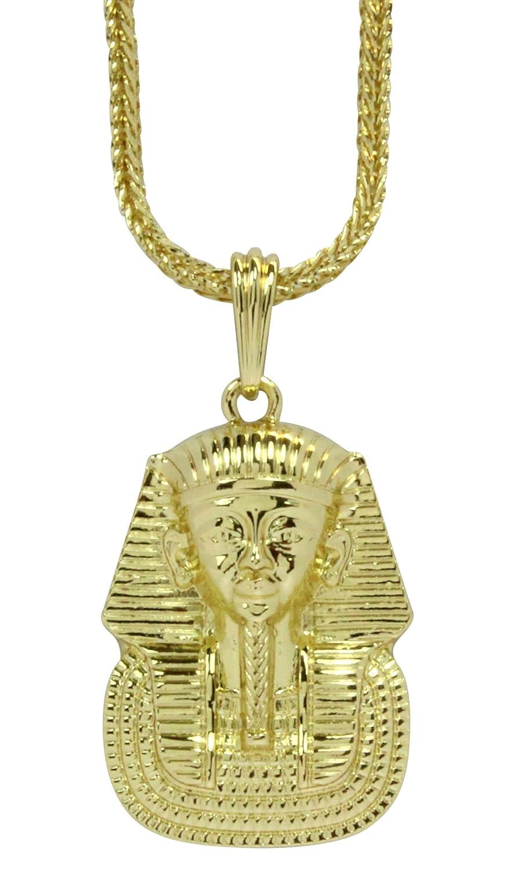 c1f4290723760 NewAgeBling Pharaoh King TUT 14k Gold Plated Egyptian 24