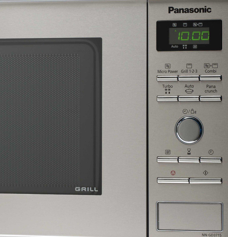 Panasonic NN GD371SEPG Mikrowelle 950 W 23 L Inverter Grill