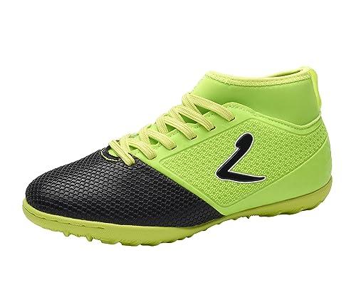 Larcia Kids' Verde Indoor Soccer Shoe