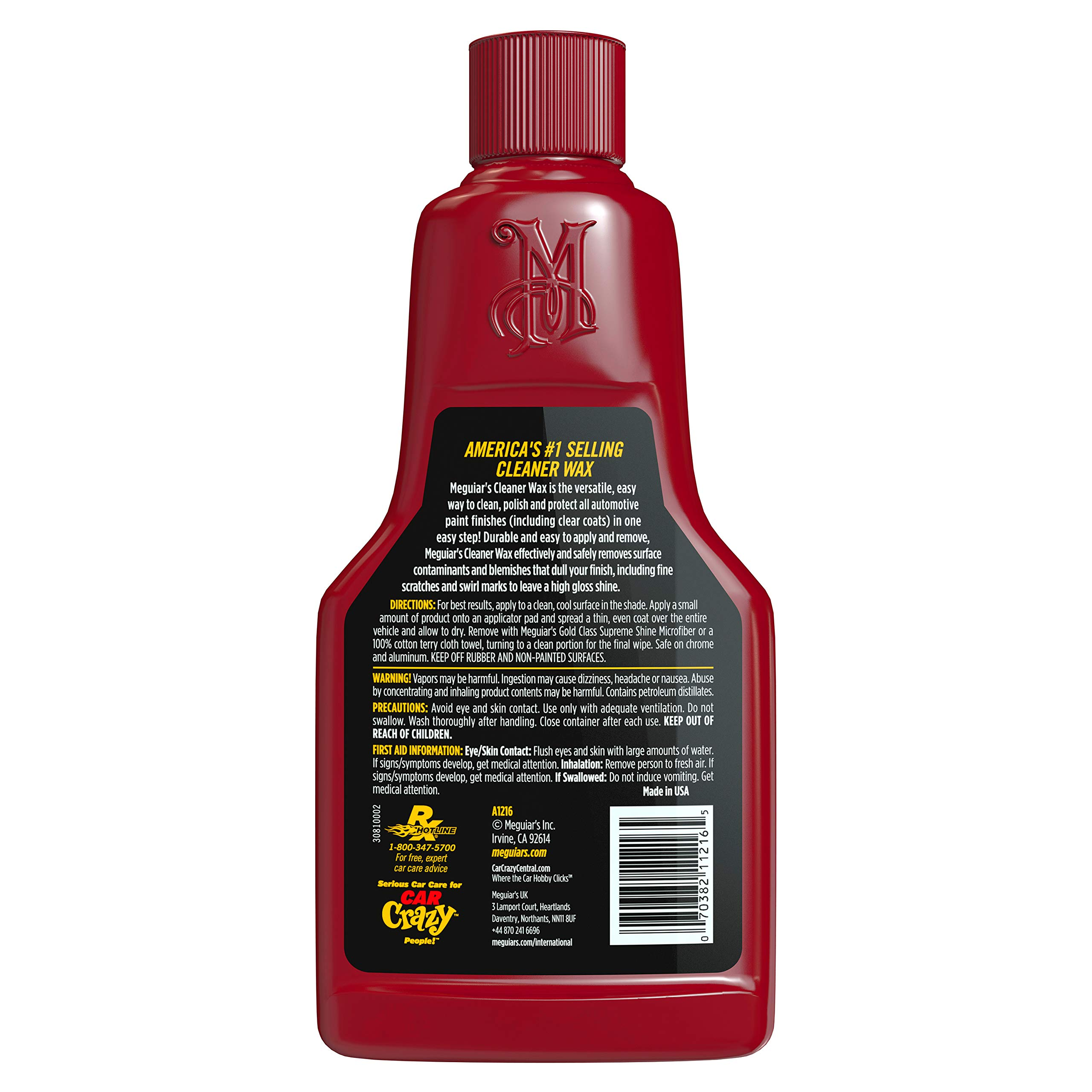 MEGUIAR'S G55012 Classic Wash & Wax Kit by MEGUIAR'S (Image #11)