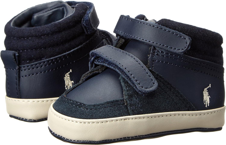 Infant//Toddler Ralph Lauren Layette Talcott High EZ Crib Shoe