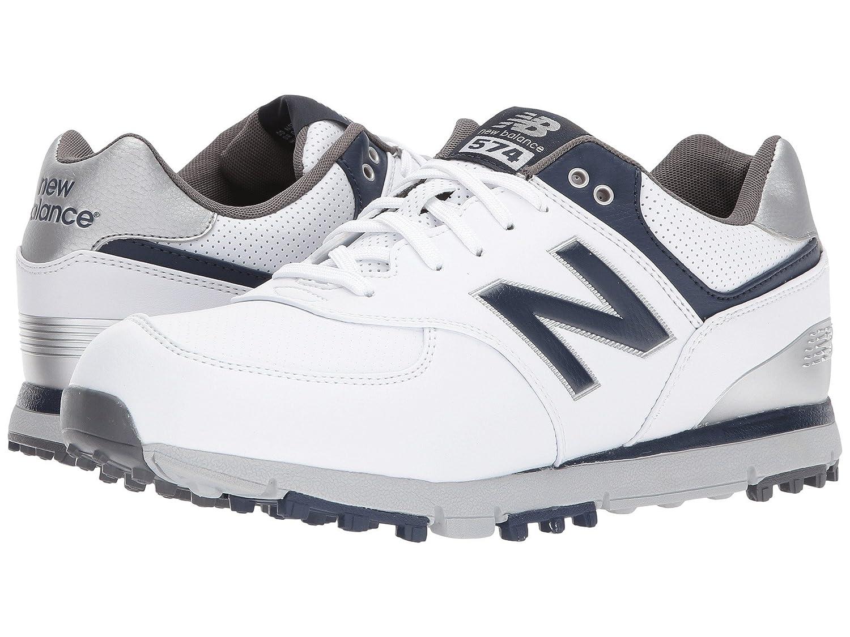 [ニューバランス] メンズゴルフシューズ靴 NBG574 SL [並行輸入品] 26.5 cm 4E White/Navy B07L6X793B