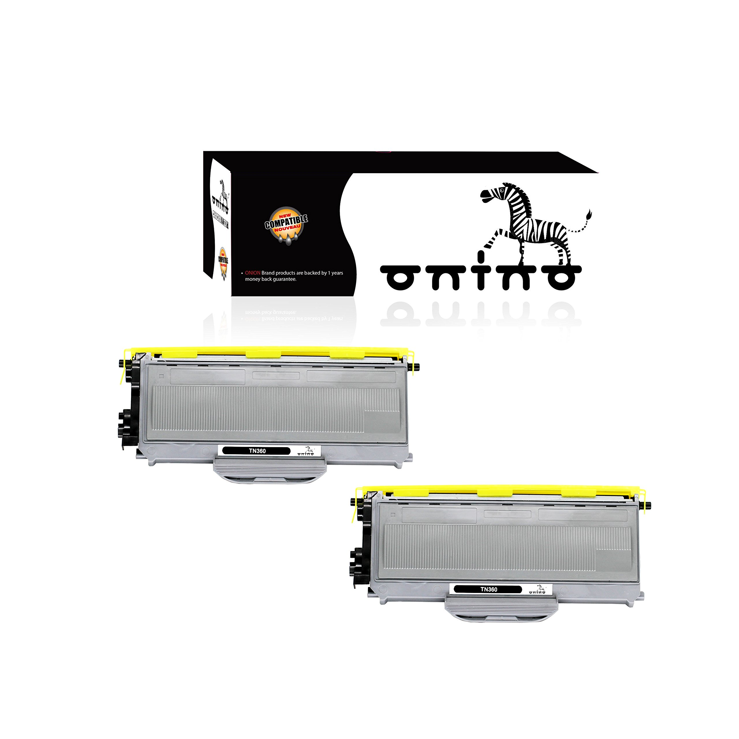 Toner Alternativo ( X2 ) Negro onino TN360 HL-2140 HL-2170W DCP-7030 DCP-7040 MFC-7340 MFC-7345N MFC-7440N MFC-7840W