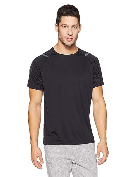 ASICS T Shirt Icon Manches Courtes, Dark Grey Heather M
