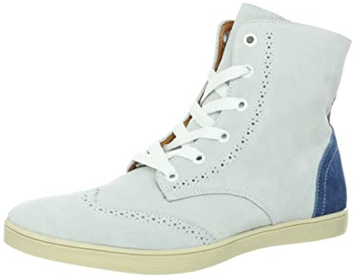 bacd9bc585c Amazon.com | JD Fisk Men's Grant Sneaker, White Suede, 12 M US ...
