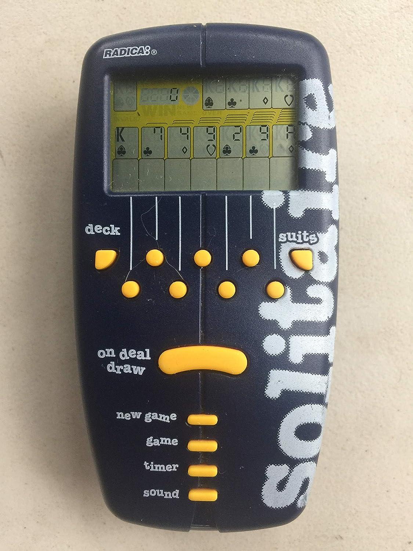 [Radica Games]Radica Games Pocket SOLITAIRE ELECTRONIC HANDHELD GAME LYSB009WRZEQW-TOYS [並行輸入品] B009WRZEQW
