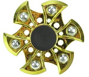 TOYLAND Spinarooz Hand Spinner Novelty Toy - Fidget Spinner - 3 en 1 - Salta, rebota, Gira - Oro: Amazon.es: Juguetes y juegos