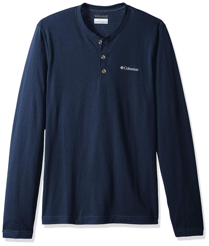 Columbia Men's Cullman Crest Long Sleeve Henley 1735431