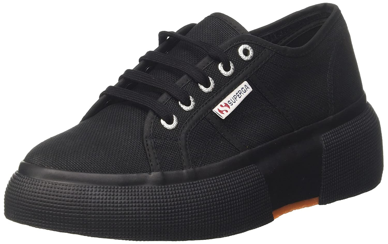 Superga 2287-Cotw, Zapatillas para Mujer 39 EU|Negro (Full Black 996)