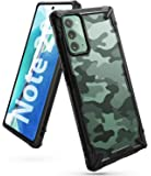 Ringke Fusion-X Compatible with Galaxy Note 20 Case 5G, Camouflage Design Back Heavy Duty Shockproof TPU Rugged Bumper…