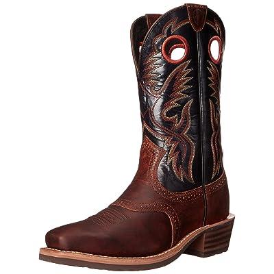Amazon.com | ARIAT Men's Heritage Roughstock Western Boot | Western
