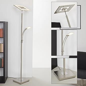 Briloner Leuchten 1325 022 LED Stehlampe Dimmbar Stehleuchte Schwenkbarer Fluter Kopf
