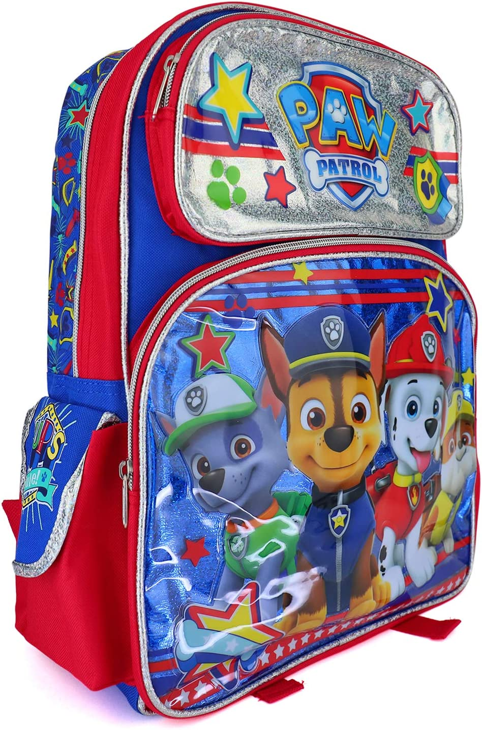 """16/"""" Disney Marvel Nickelodeon Large School Backpack with Detachable Lunch Bag"""