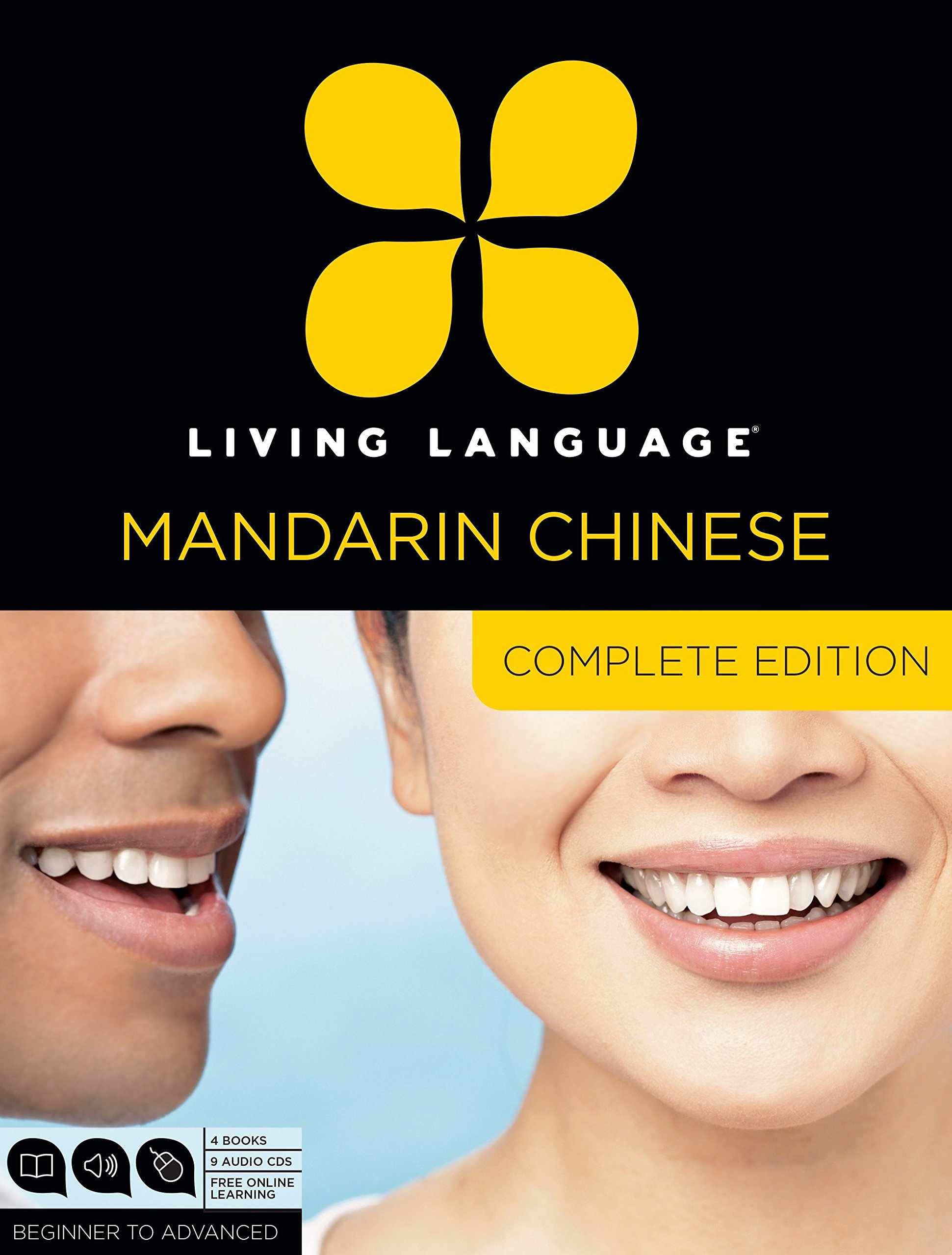 Living Language Mandarin Chinese, Complete Edition: Beginner through advanced course, including 3 coursebooks, 9 audio CDs, Chinese character guide, and free online learning by Living Language