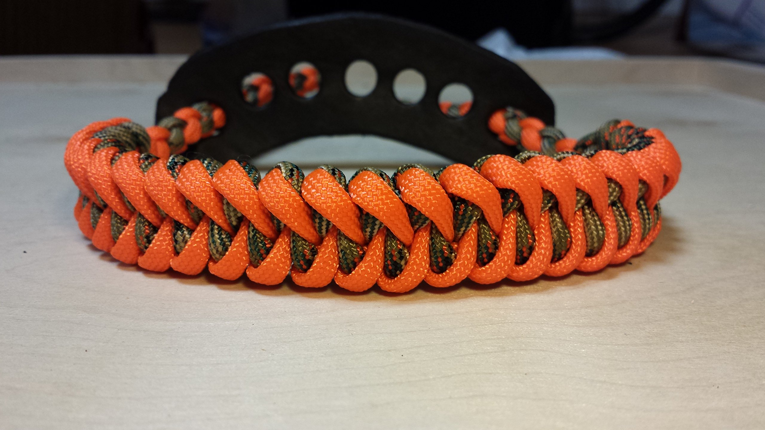 Muddy River Gear Archery Bow Wrist Sling Treestand and Orange Shark