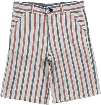 Mini Shatsu Big Boys Linen Grey Shorts