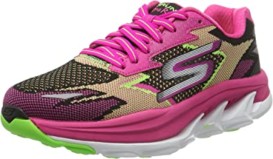 Skechers GO Run Ultra R Road, Zapatillas de Running para Mujer, Fucsia, 35 EU: Amazon.es: Zapatos y complementos
