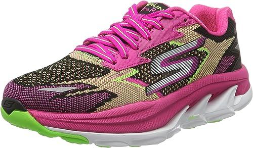 Skechers GO Run Ultra R Road, Zapatillas de Running para Mujer ...