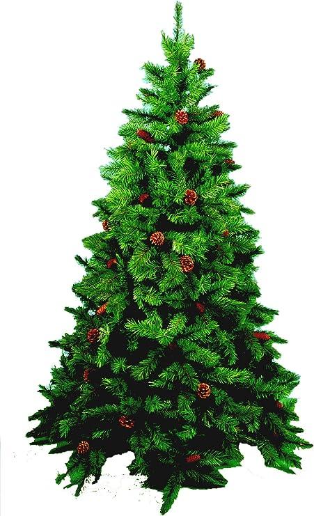 Albero Di Natale H 240.Albero Di Natale Minnesota Pvc H 240 Cm Amazon It Casa E Cucina